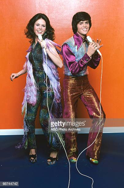 MARIE 11/8/76 The popular sister/brother act of Marie and Donny Osmond hosted this variety show on Walt Disney Television via Getty Images