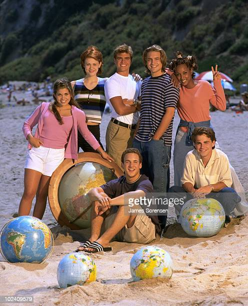 WORLD the popular TGIF comedy series airs on the Walt Disney Television via Getty Images Television Network Pictured Ben Savage Danielle Fishel...