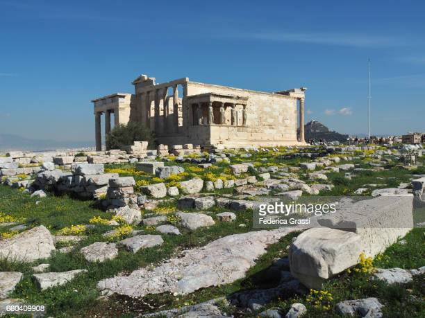 The Porch of the Caryatids at The Erechtheion, Athens, Greece