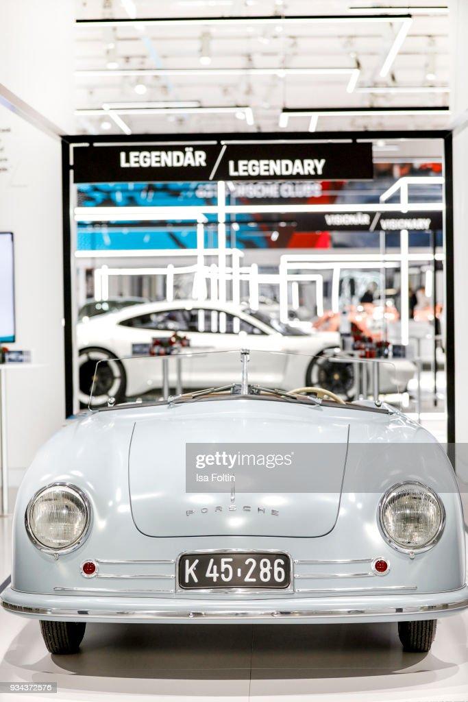 '70 Jahre Faszination Sportwagen' Porsche Exhibition Preview In Berlin