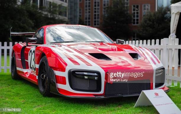 The Porsche 935 seen at London Concours. Each year some of the rarest cars are displayed at the Honourable Artillery Company grounds in London.
