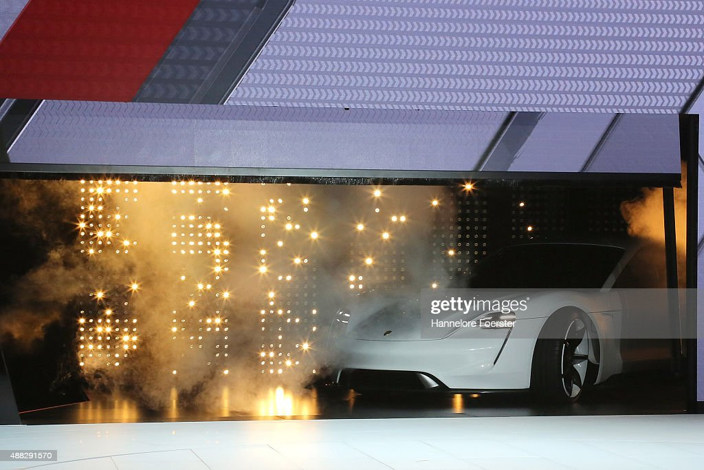 2015 IAA Frankfurt Auto Show : News Photo