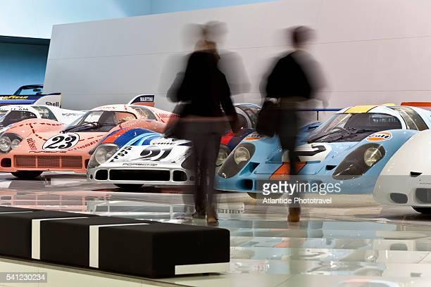 The Porsche Museum, Porscheplatz, Stuttgart, Germany