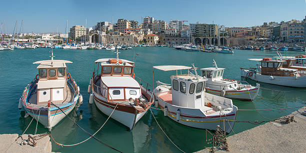 The Port at Heraklion, Crete