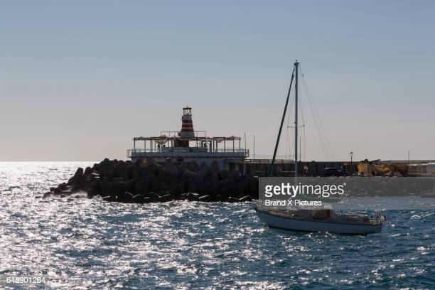 The port at Puerto de Mogan