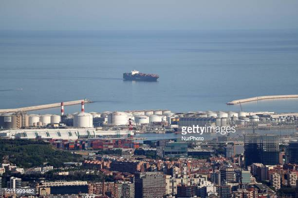 The port of Barcelona Barcelona reaches historic lows in air pollution on 06th May 2020
