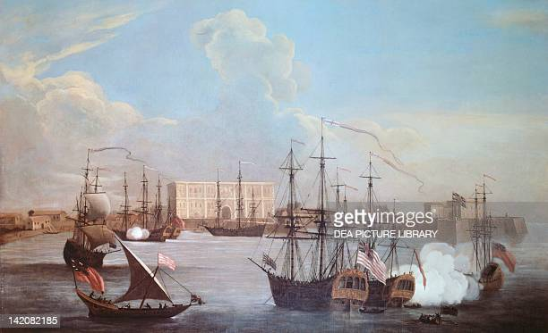 The Port Of Bombay in 1732 India 18th century