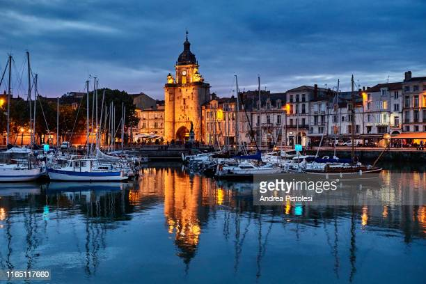 the port of la rochelle, france - la rochelle stock pictures, royalty-free photos & images