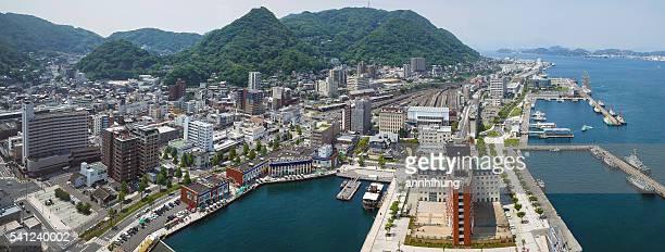 the port of moji 門司港 - 北九州市 ストックフォトと画像