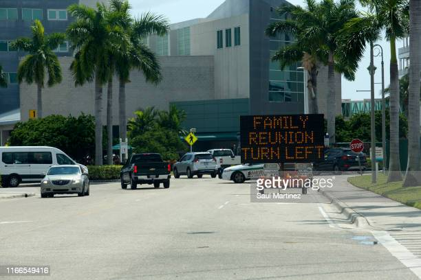 The Port of Palm Beach on September 7 2019 in West Palm Beach Florida The ship arrived with hundreds of evacuees impacted by Hurricane Dorian in the...