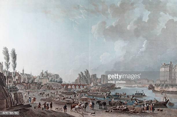 The port of SaintPaul in Paris In the 18th century