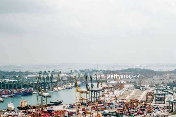 The Port Of Singapore.