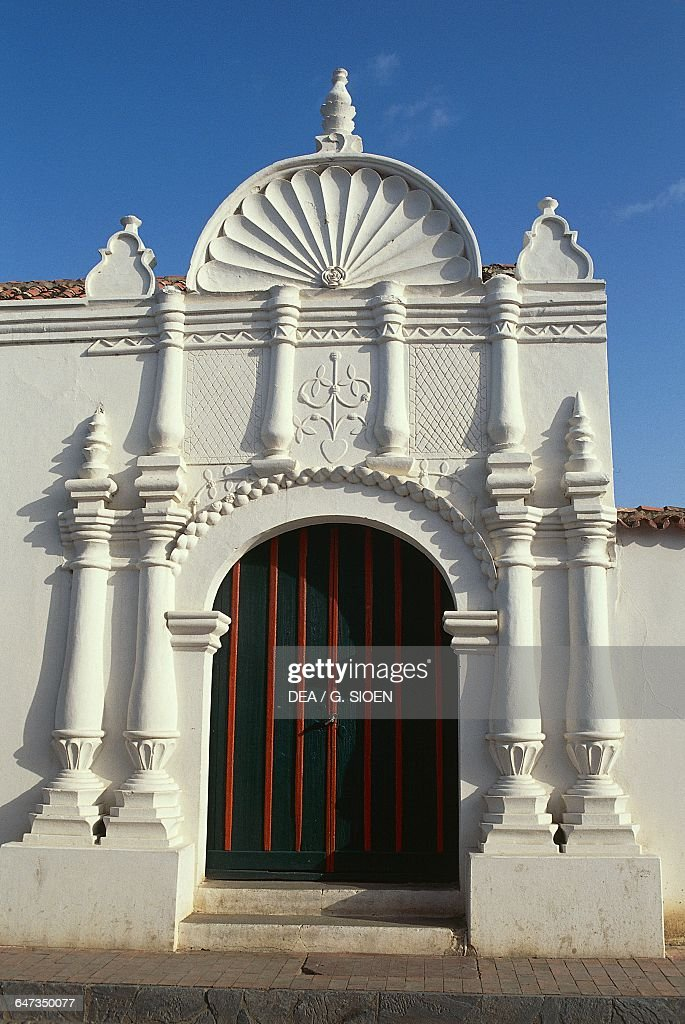 The Portal Of The Casa De Las Ventanas De Hierro (House Of The Iron Windows