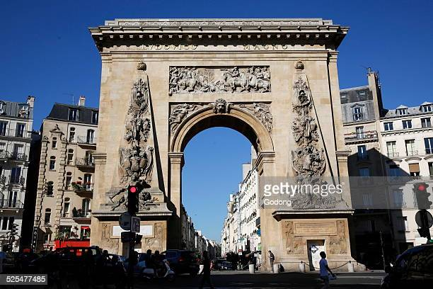 The Porte SaintDenis is a Parisian monument located in the 10th arrondissement designed by architect Francois Blondel and the sculptor Michel Anguier...