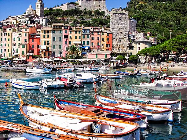 The Porto Venere harbor, Italy