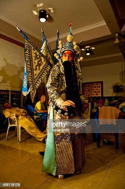 The portrait of Sichuan Opera actor