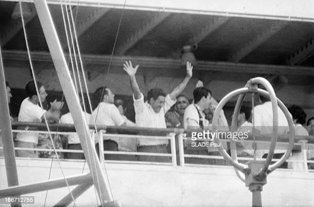The Portuguese Cruise Ship 'Santa Maria' Is Boarded By Pirates Le 22 janvier 1961 le capitaine Henrique GALVAO à la tête d'un commando de 24 hommes...