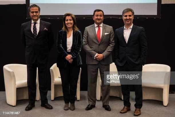 The Portuguese Secretary of State for Tourism and Portuguese Minister of Economy Ana Mandes Godinho and the Portuguese Ambassador to France Jorge...