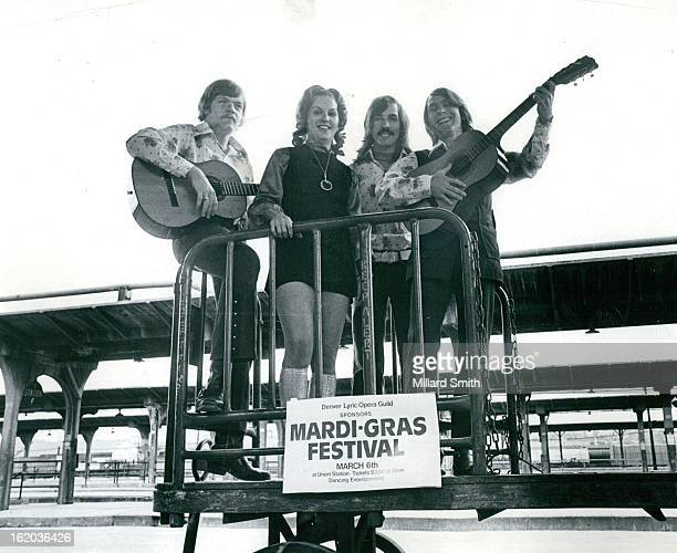FEB 28 1973 FEB 29 1973 MAR 1 1973 The Positive Denver's Union Station is one of two bands which will perform at the Mardi Gras Fest next Tuesday...