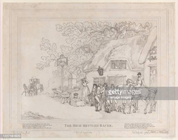 The Post Horse July 20 1789 Artist Thomas Rowlandson John Hassell