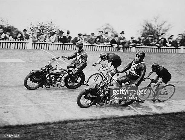The Post Olympic Racing In The Olympic Palace At Herne Hill On April 30Th 1932