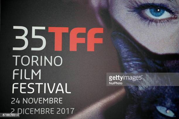 The poster of the 35th Torino Film Festival on 24 November 2017 in Turin Italy
