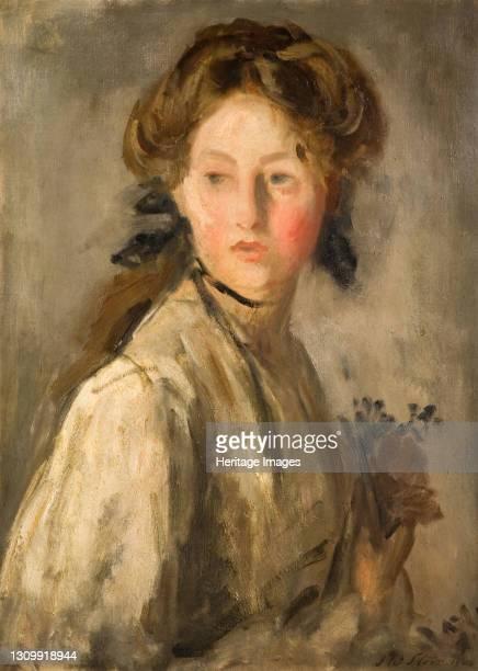 The Posy, 1904. Artist Philip Wilson Steer. .