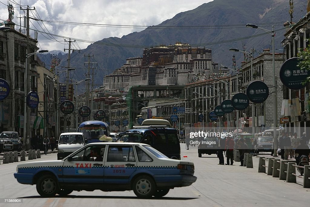 Economy Booming Changes Lhasa of Tibet : News Photo
