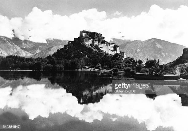 The Potala Palace The mountain palace of the Dalai Lama in Lhasa 1951