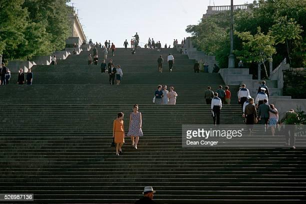 The Potemkin Steps in Odessa Ukraine