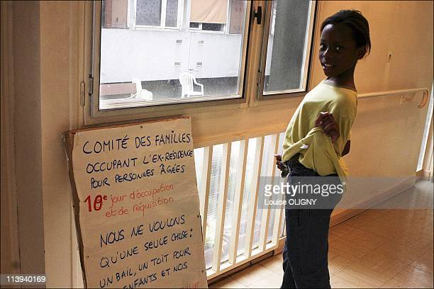 The pour housed in Alfortville France On June 28 200521 families and 45 children requisitioned the residence GrunebaumBallin in Alfortville They live...