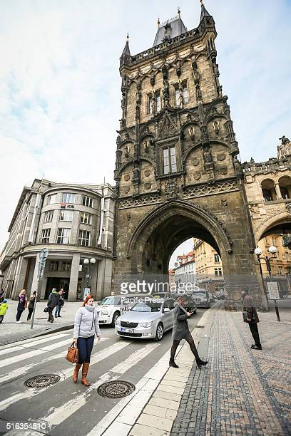 The Powder Tower in Prague