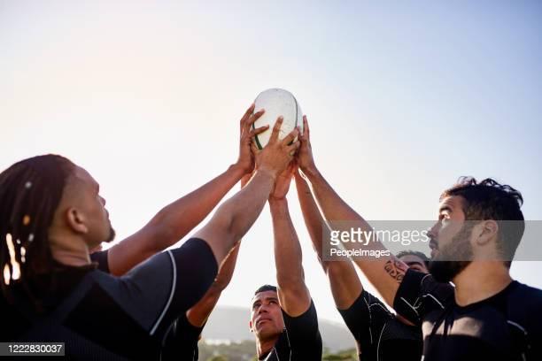 el poder está en nuestras manos - rugby union fotografías e imágenes de stock