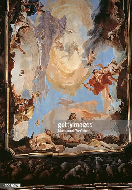 The Power of Eloquence by Giambattista Tiepolo 1724 1725 18th Century fresco