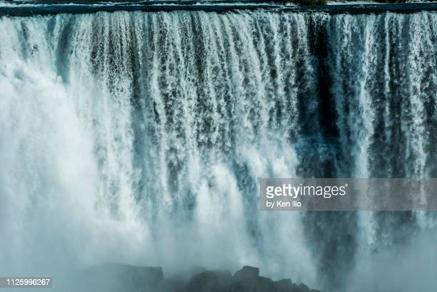 the power of niagara - ken ilio stock photos and pictures