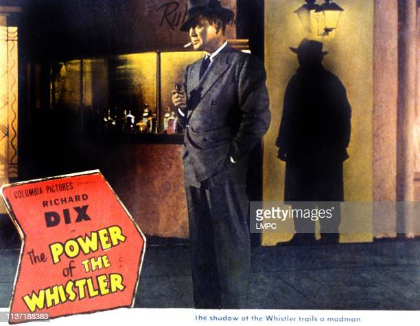 The Power Of The Whistler lobbycard Richard Dix 1945