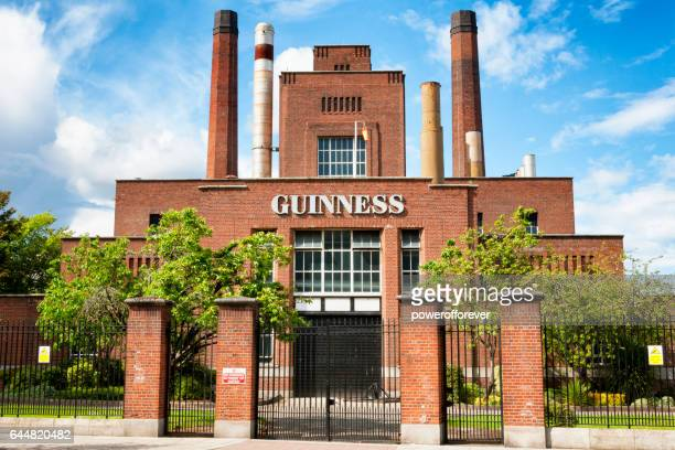 the power station at the guinness brewery in dublin, ireland - guinness stock photos and pictures