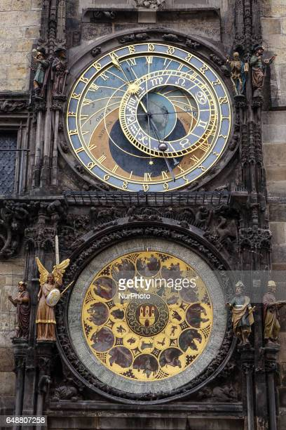 1 009 Prague Astronomical Clock Photos And Premium High Res Pictures Getty Images