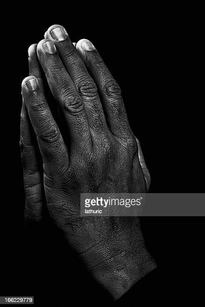 the prayer - praying hands stock pictures, royalty-free photos & images