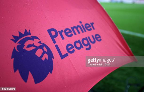 The Premier League logo during the Premier League match between AFC Bournemouth and Brighton and Hove Albion at Vitality Stadium on September 15 2017...