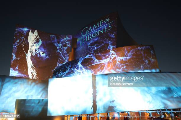 The Premiere of HBO's 'Game Of Thrones' Season 7 after party at Walt Disney Concert Hall on July 12 2017 in Los Angeles California