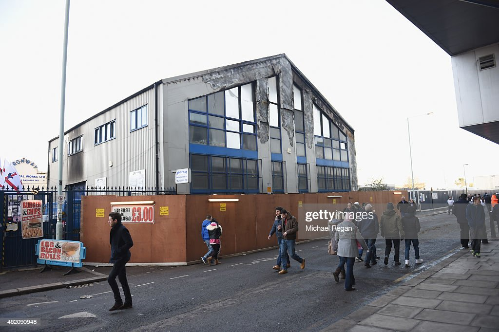 The Premises Of Archway Sheet Metal Work Ltd Before The Fa