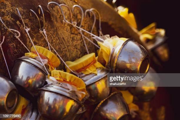 the preparation of thaipusam festival. - shaifulzamri photos et images de collection