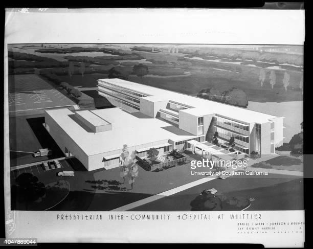 The Presbyterian Intercommunity Hospital 18 November 1956 Don VaupelArthur WrightMrs Edward S BlanchardClifford F Schwarberg JuniorSupplementary...