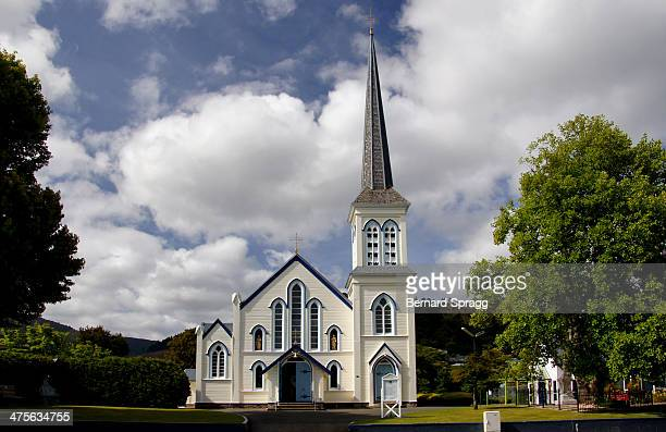 CONTENT] The present St Marys designed by Thomas Turnbull of Wellington and built by Walter Good was opened and blessed on 31 December 1882 by the...