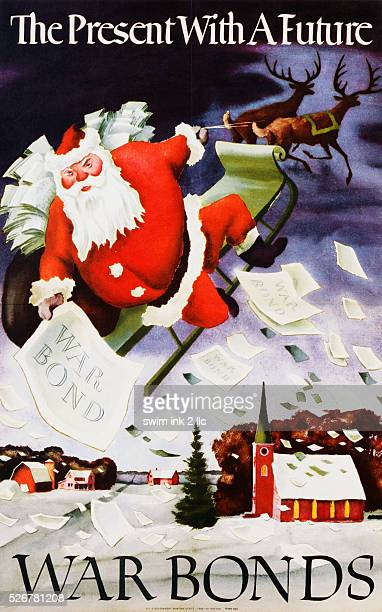 The Present with a Future War Bonds Poster by Adolf Dehn