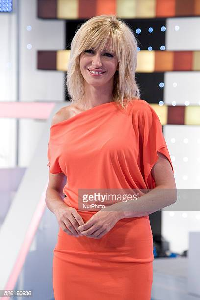 The presenter Susana Griso presents the new season of the TV show in Madrid PUBLIC MIRROR informative Photo Oscar Gonzalez/NurPhoto