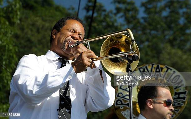 The Preservation Hall Jazz Band perform at the Great Googa Mooga 2012 at Prospect Park on May 19 2012 in New York City