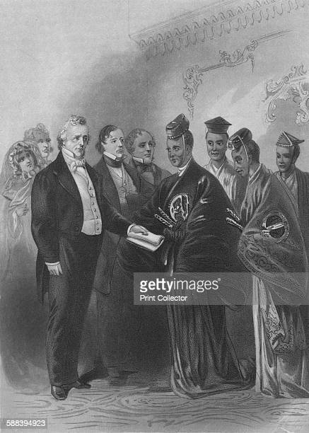 The President and the Japanese Embassy' circa 1869 The Japanese Embassy to the United States was dispatched in 1860 by the Tokugawa shogunate...