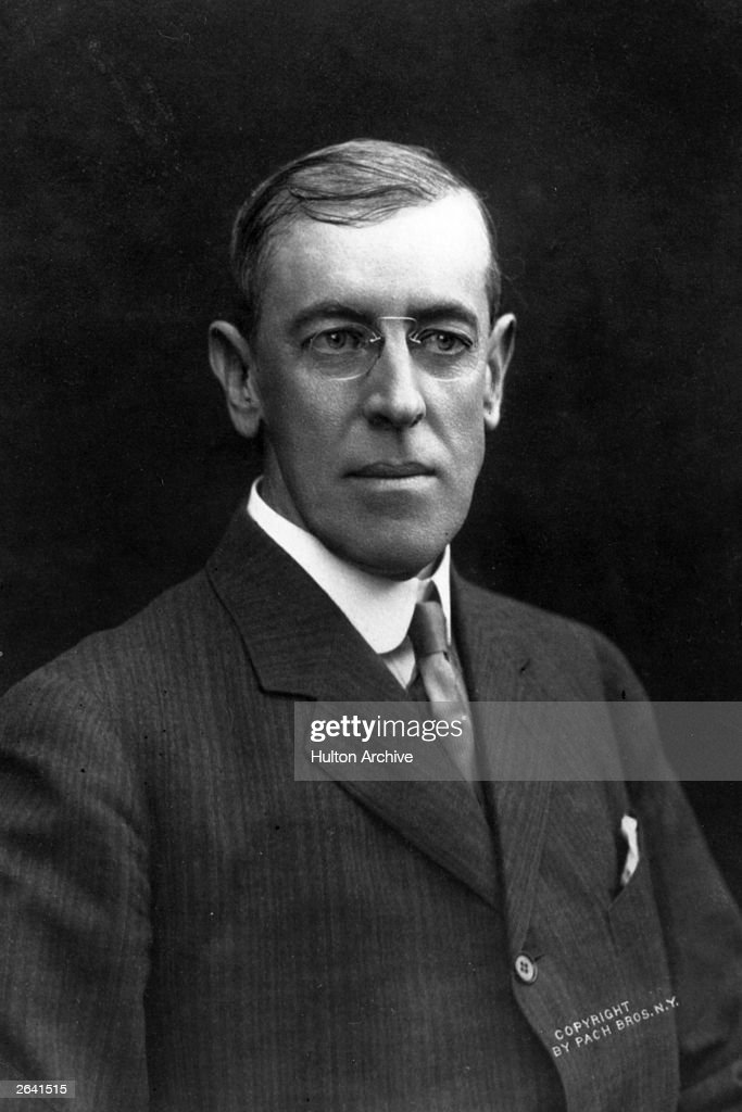 The President Elect of the United States, Woodrow Wilson (1856 - 1924).